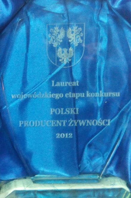 Nagroda miód 2012
