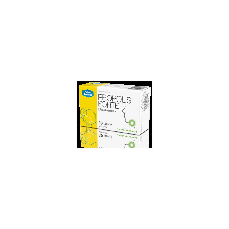 Propolis Forte tabletki o smaku mentolowym