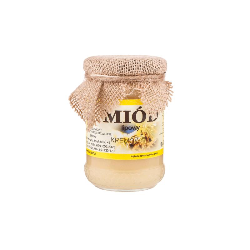 Miód lipowy kremowy 0,40kg