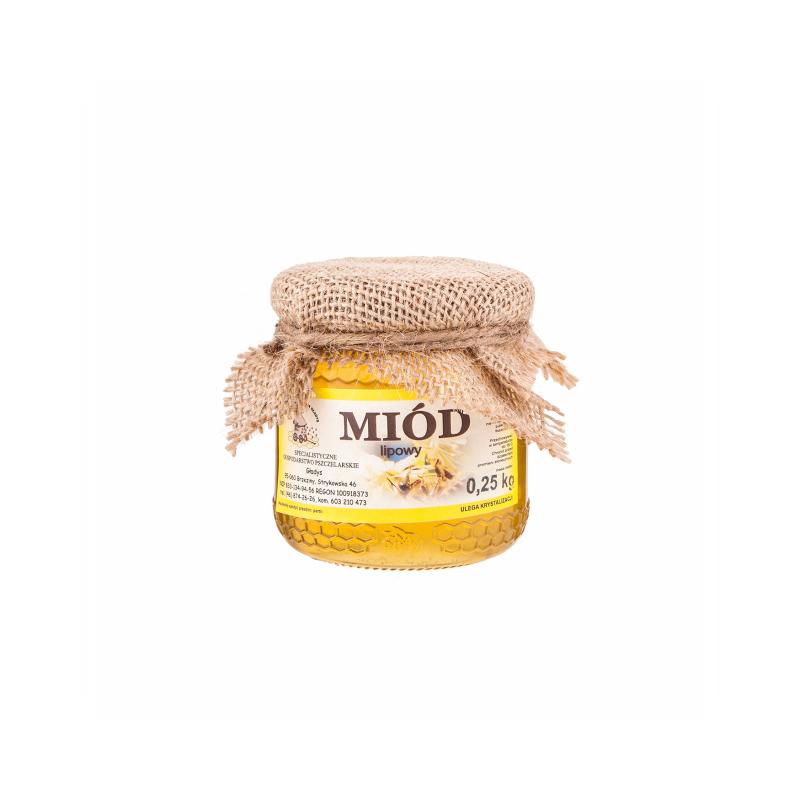 Miód lipowy 0,25kg