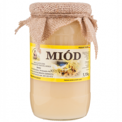 Miód lipowy kremowy 1,10kg