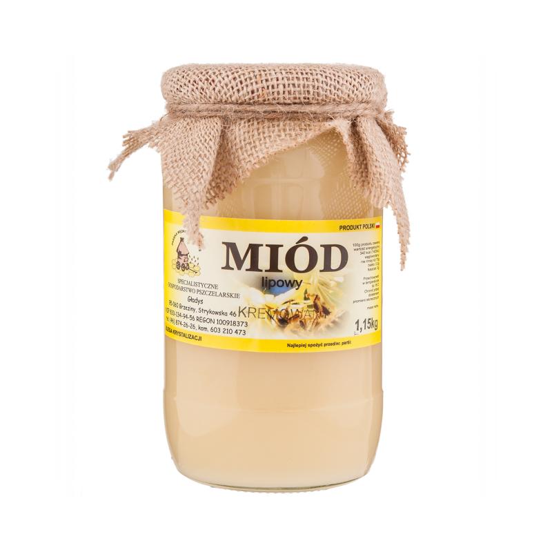 miód lipowy kremowany