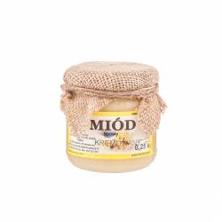 Miód lipowy kremowy 0,25kg